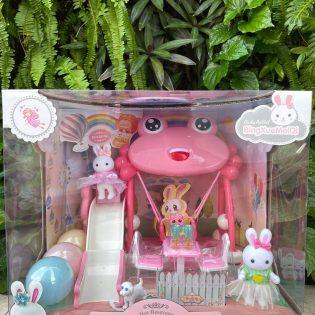 Bộ đồ chơi sân chơi của Thỏ Dreamy