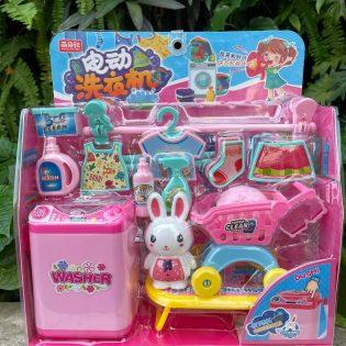 Mô hình máy giặt cho bé mẫu thỏ Dreamy