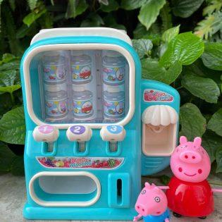 Máy bán nước ngọt tự động heo Peppa Pig