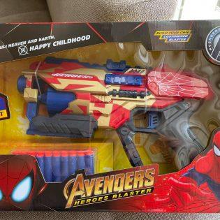 Súng bắn đạn xốp mềm Nerf mẫu Avenger