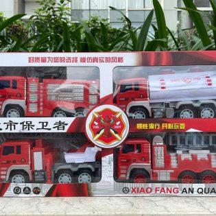 Bộ đồ chơi mô hình 4 xe cứu hoả size to