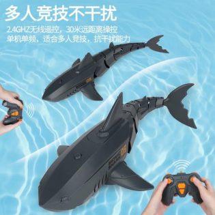 Đồ chơi cá mập điều khiển từ xa