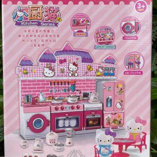 Bộ bếp đồ chơi cho bé mẫu Kitty