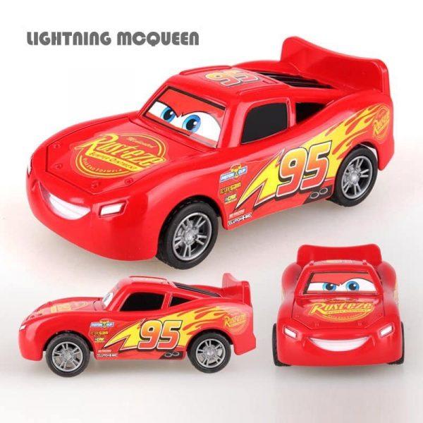 Bộ đồ chơi sưu tập 8 xe Cars Mcqueen bánh đà