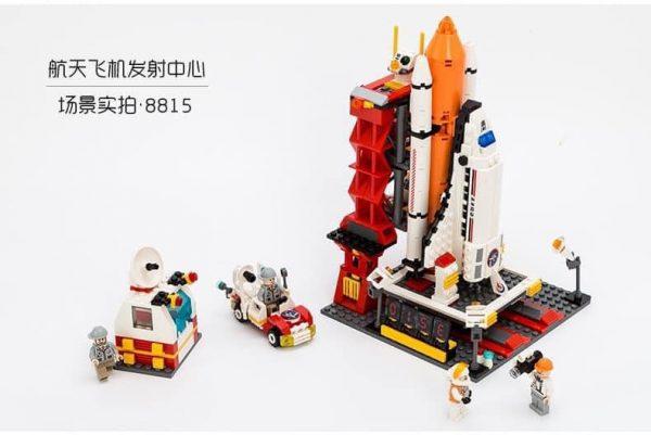 Bộ xếp hình lắp ghép bệ phóng tên lửa của Nasa Bệ phóng tên lửa là một công trình vĩ đại của loài người, hoàn thành công trình này chắc chắn nó sẽ là công trình lớn lao của bé.