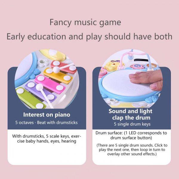 Bàn âm nhạc cho bé cực vui và thú vị