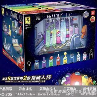 Bộ đồ chơi lắp ghép, xếp hình, Lego theo game Among Us