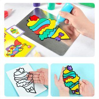 Bộ đồ chơi thủ công tranh màu DIY