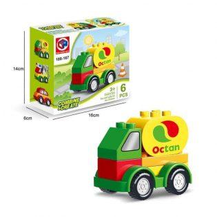 Bộ đồ chơi 6 Xe Lắp Ghép Lego cho bé
