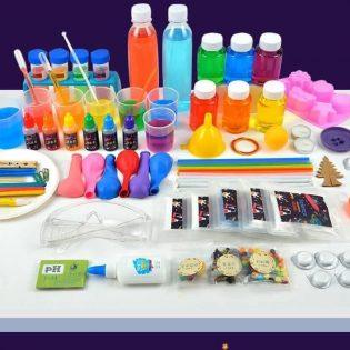 Bộ đồ chơi thí nghiệm khoa học vui STEAM với 168 thí nghiệm