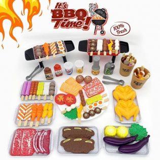 Bộ đồ chơi nấu ăn đồ nướng BBQ 80 chi tiết